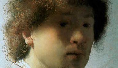 Autoportrait aux cheveux ébouriffés, 1627